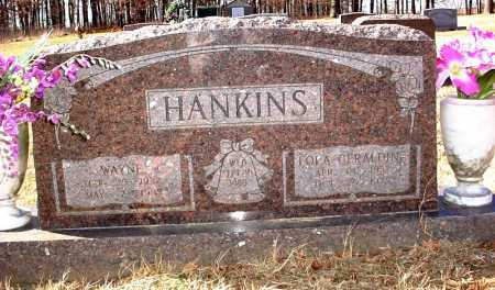 FIELDS HANKINS, LOLA GERALDINE - Madison County, Arkansas | LOLA GERALDINE FIELDS HANKINS - Arkansas Gravestone Photos
