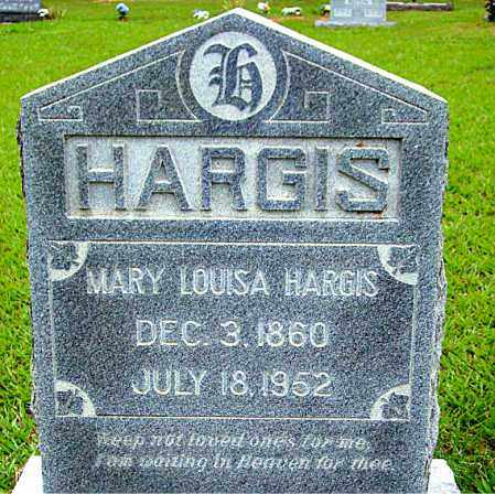 HARGIS, MARY LOUISA - Madison County, Arkansas | MARY LOUISA HARGIS - Arkansas Gravestone Photos