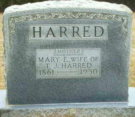 HARRED, MARY E. - Madison County, Arkansas | MARY E. HARRED - Arkansas Gravestone Photos