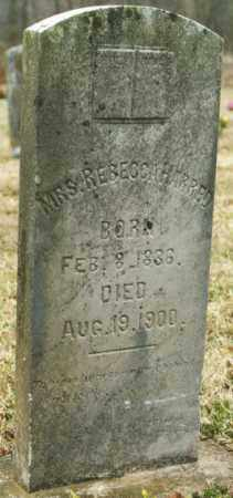 HARRED, REBECCA - Madison County, Arkansas | REBECCA HARRED - Arkansas Gravestone Photos