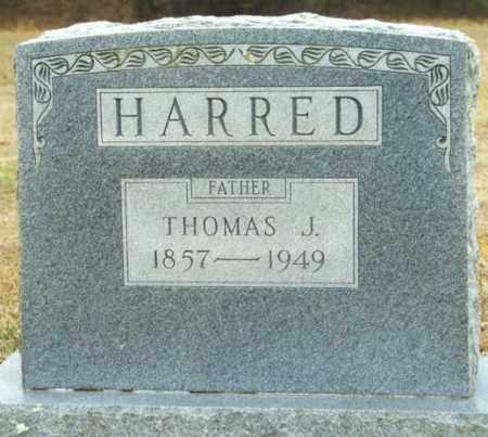 HARRED, THOMAS J. - Madison County, Arkansas | THOMAS J. HARRED - Arkansas Gravestone Photos