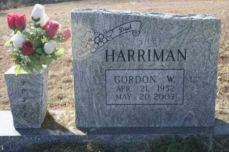 HARRIMAN, GORDON W. - Madison County, Arkansas | GORDON W. HARRIMAN - Arkansas Gravestone Photos