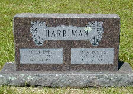 HARRIMAN, NOLEN EWELL - Madison County, Arkansas | NOLEN EWELL HARRIMAN - Arkansas Gravestone Photos