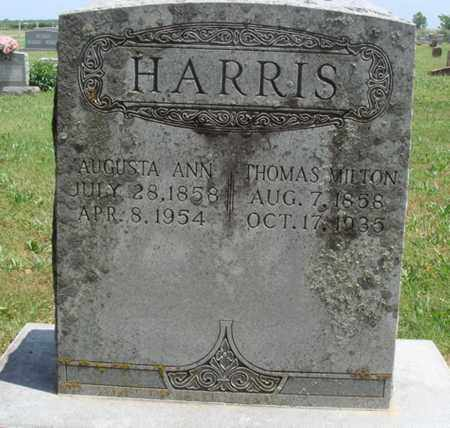 HARRIS, THOMAS MILTON - Madison County, Arkansas | THOMAS MILTON HARRIS - Arkansas Gravestone Photos