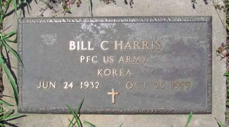 HARRIS (VETERAN KOR), BILL CARLIN - Madison County, Arkansas | BILL CARLIN HARRIS (VETERAN KOR) - Arkansas Gravestone Photos