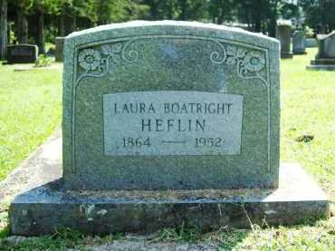 HEFLIN, LAURA E. - Madison County, Arkansas | LAURA E. HEFLIN - Arkansas Gravestone Photos