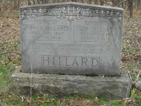 HILLARD, SEP (SEPTIMORE) - Madison County, Arkansas | SEP (SEPTIMORE) HILLARD - Arkansas Gravestone Photos