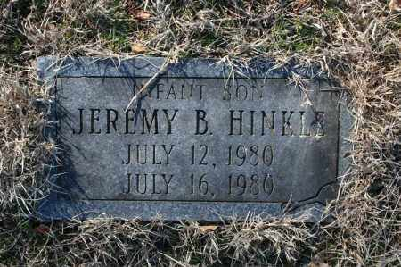 HINKLE, JEREMY B. - Madison County, Arkansas | JEREMY B. HINKLE - Arkansas Gravestone Photos