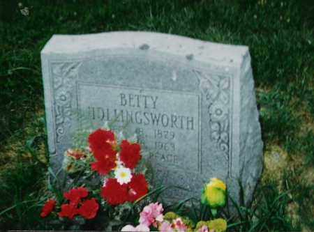 HOLLINGSWORTH, BETTY - Madison County, Arkansas | BETTY HOLLINGSWORTH - Arkansas Gravestone Photos