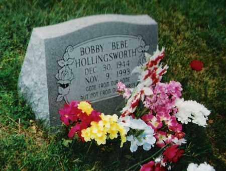 "HOLLINGSWORTH, BOBBY ""BEBE"" - Madison County, Arkansas | BOBBY ""BEBE"" HOLLINGSWORTH - Arkansas Gravestone Photos"