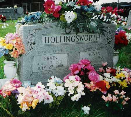 HOLLINGSWORTH, AGNES - Madison County, Arkansas | AGNES HOLLINGSWORTH - Arkansas Gravestone Photos