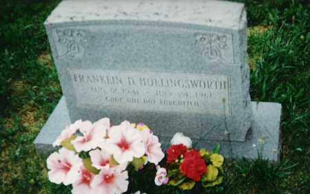 HOLLINGSWORTH, FRANKLIN D. - Madison County, Arkansas | FRANKLIN D. HOLLINGSWORTH - Arkansas Gravestone Photos
