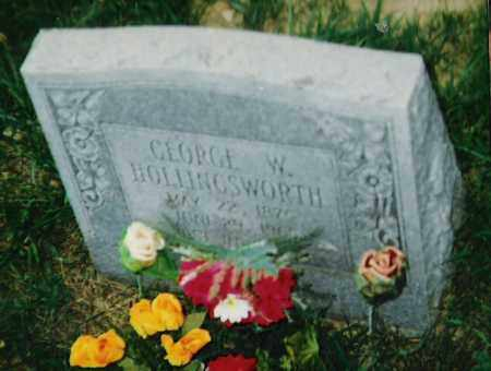HOLLINGSWORTH, II, GEORGE W. - Madison County, Arkansas | GEORGE W. HOLLINGSWORTH, II - Arkansas Gravestone Photos