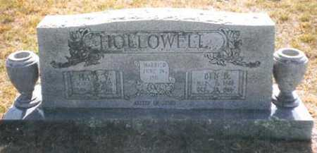 HOLLOWELL, BENJAMIN B. - Madison County, Arkansas | BENJAMIN B. HOLLOWELL - Arkansas Gravestone Photos