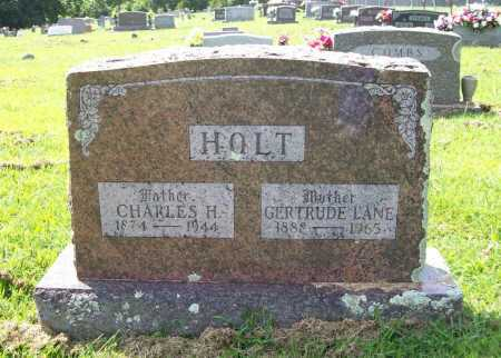 HOLT, CHARLES H. - Madison County, Arkansas | CHARLES H. HOLT - Arkansas Gravestone Photos