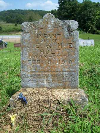 HOLT, INFANT DAUGHTER - Madison County, Arkansas | INFANT DAUGHTER HOLT - Arkansas Gravestone Photos