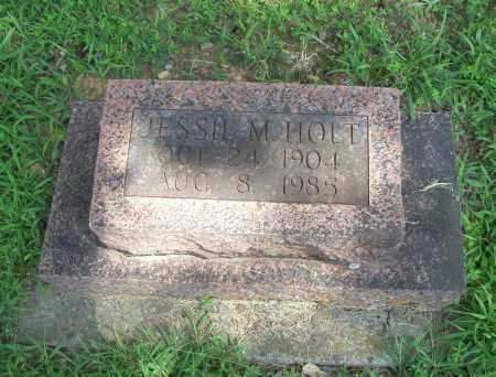 HOLT, JESSIE M. - Madison County, Arkansas | JESSIE M. HOLT - Arkansas Gravestone Photos
