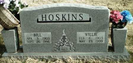 HOSKINS, WILLIE - Madison County, Arkansas | WILLIE HOSKINS - Arkansas Gravestone Photos