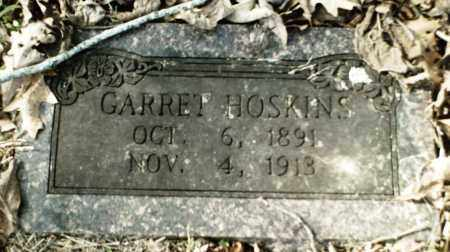 HOSKINS, GARRET - Madison County, Arkansas | GARRET HOSKINS - Arkansas Gravestone Photos