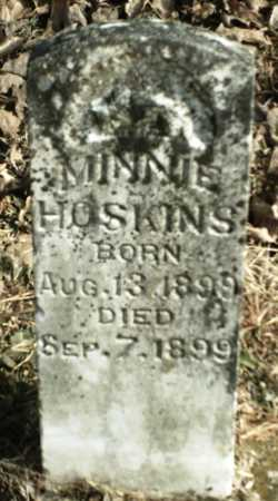 HOSKINS, MINNIE - Madison County, Arkansas | MINNIE HOSKINS - Arkansas Gravestone Photos