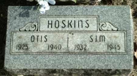 HOSKINS, SIM - Madison County, Arkansas | SIM HOSKINS - Arkansas Gravestone Photos