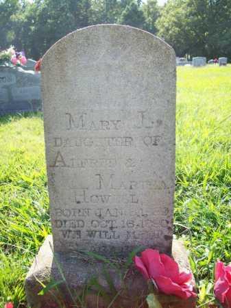 HOWELL, MARY L. - Madison County, Arkansas | MARY L. HOWELL - Arkansas Gravestone Photos