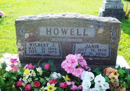 HOWELL, JANIE - Madison County, Arkansas | JANIE HOWELL - Arkansas Gravestone Photos