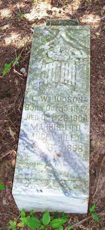 HUDSON, LEWIS W. - Madison County, Arkansas | LEWIS W. HUDSON - Arkansas Gravestone Photos