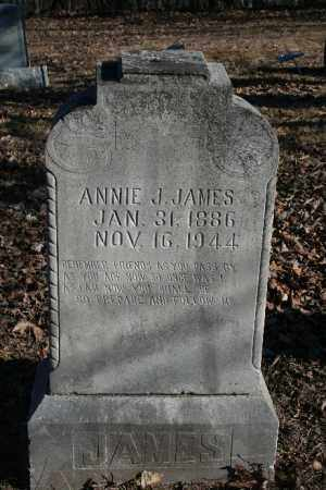 JAMES, ANNIE J. - Madison County, Arkansas | ANNIE J. JAMES - Arkansas Gravestone Photos