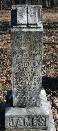 JAMES, ESTELLA - Madison County, Arkansas | ESTELLA JAMES - Arkansas Gravestone Photos