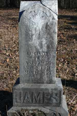 JAMES, LUCINDA - Madison County, Arkansas | LUCINDA JAMES - Arkansas Gravestone Photos