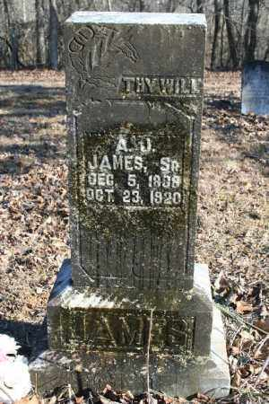 JAMES, ANDREW JACKSON SR. - Madison County, Arkansas | ANDREW JACKSON SR. JAMES - Arkansas Gravestone Photos