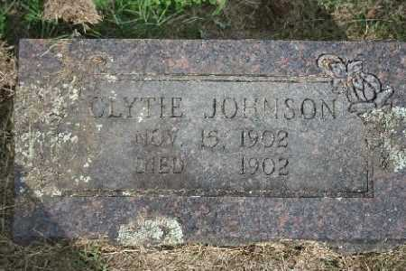 JOHNSON, CLYTIE - Madison County, Arkansas | CLYTIE JOHNSON - Arkansas Gravestone Photos