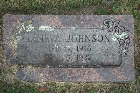 JOHNSON, LENEVA - Madison County, Arkansas | LENEVA JOHNSON - Arkansas Gravestone Photos