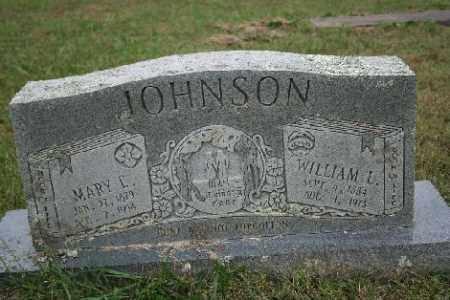 JOHNSON, WILLIAM L. - Madison County, Arkansas | WILLIAM L. JOHNSON - Arkansas Gravestone Photos