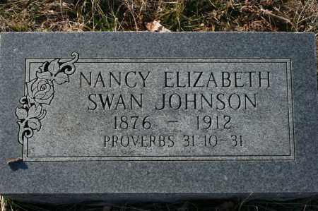 JOHNSON, NANCY ELIZABETH - Madison County, Arkansas | NANCY ELIZABETH JOHNSON - Arkansas Gravestone Photos