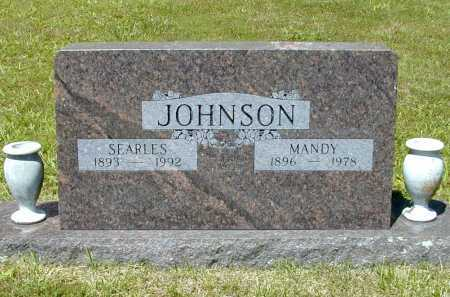 JOHNSON, SEARLES - Madison County, Arkansas | SEARLES JOHNSON - Arkansas Gravestone Photos