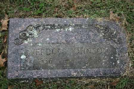 JOHNSON, VERDON - Madison County, Arkansas | VERDON JOHNSON - Arkansas Gravestone Photos