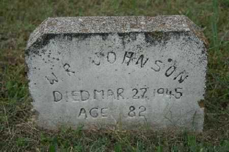 JOHNSON, W.R. - Madison County, Arkansas | W.R. JOHNSON - Arkansas Gravestone Photos