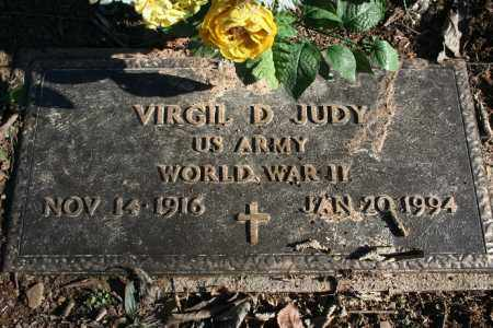 JUDY (VETERAN WWII), VIRGIL D - Madison County, Arkansas | VIRGIL D JUDY (VETERAN WWII) - Arkansas Gravestone Photos