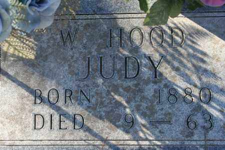 JUDY, W. HOOD - Madison County, Arkansas | W. HOOD JUDY - Arkansas Gravestone Photos