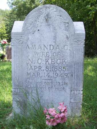KECK, AMANDA C. - Madison County, Arkansas | AMANDA C. KECK - Arkansas Gravestone Photos