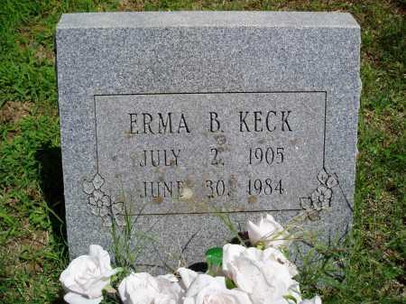 KECK, ERMA B. - Madison County, Arkansas | ERMA B. KECK - Arkansas Gravestone Photos
