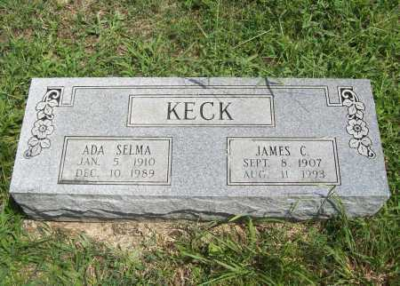 KECK, ADA SELMA - Madison County, Arkansas | ADA SELMA KECK - Arkansas Gravestone Photos