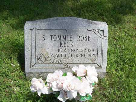 KECK, SYLVA TOMMIE - Madison County, Arkansas | SYLVA TOMMIE KECK - Arkansas Gravestone Photos