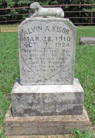 KISOR, ALVIN A. - Madison County, Arkansas | ALVIN A. KISOR - Arkansas Gravestone Photos