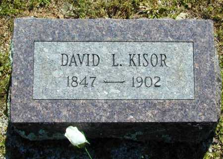 KISOR, DAVID L. - Madison County, Arkansas | DAVID L. KISOR - Arkansas Gravestone Photos