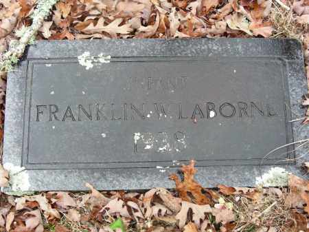 LABORNE, FRANKLIN W. - Madison County, Arkansas | FRANKLIN W. LABORNE - Arkansas Gravestone Photos