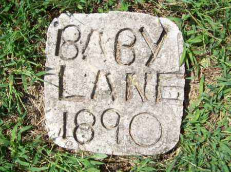 LANE, BABY - Madison County, Arkansas | BABY LANE - Arkansas Gravestone Photos