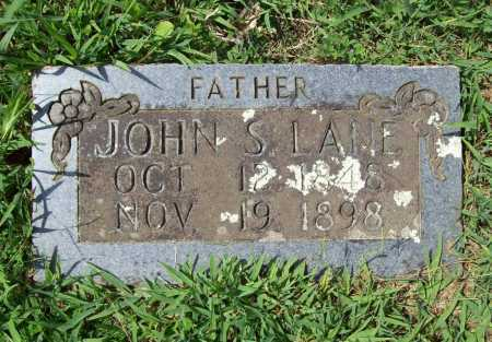LANE, JOHN S. - Madison County, Arkansas | JOHN S. LANE - Arkansas Gravestone Photos